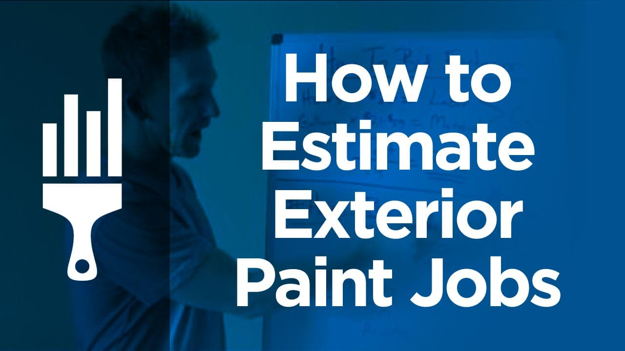 How to Bid or Estimate Exterior Painting Jobs. Exterior Painting Labor Calculator. Home Design Ideas