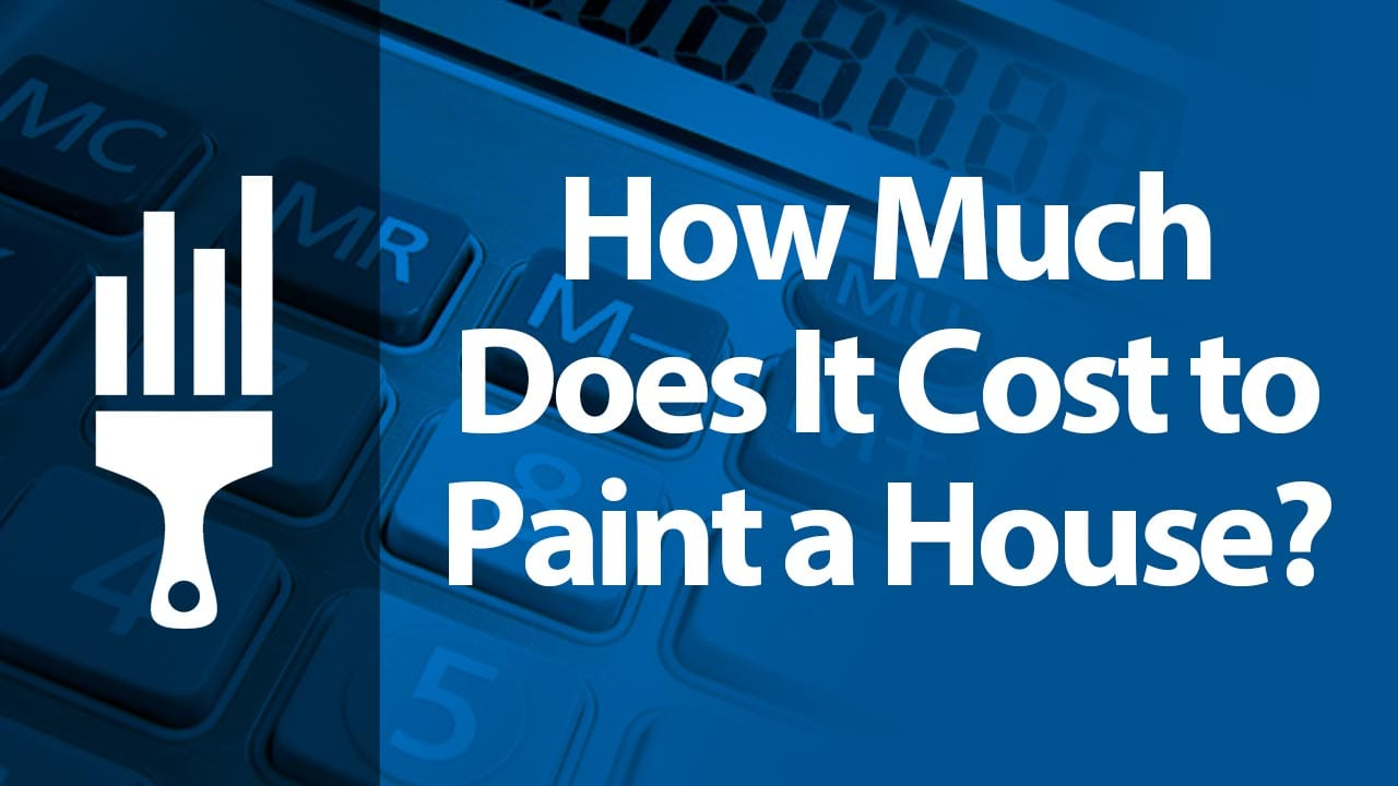 How much does it cost to paint a house painting - How much to paint house interior ...