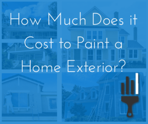 Cost to Paint a Home Exterior