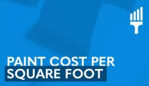 paint cost per square foot