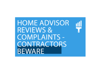 Home Advisor Reviews for your painting business