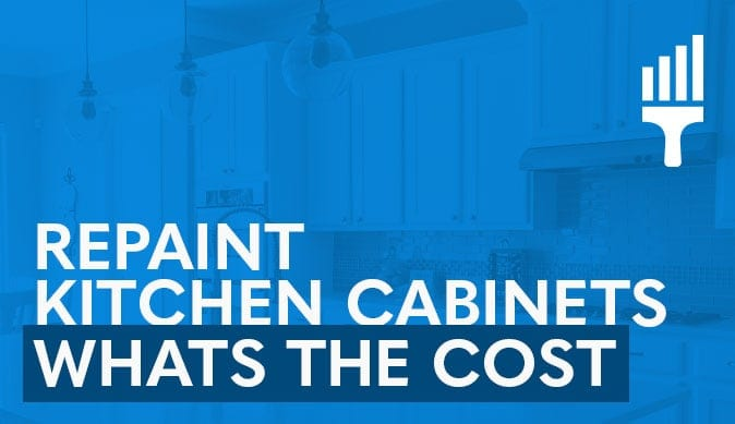 Cost to Paint Kitchen Cabinets With Picture Examples